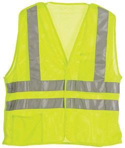 Hi-Visibility Easy-Off Vests