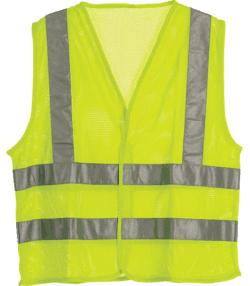 Hi Visibility Economy Mesh Vest