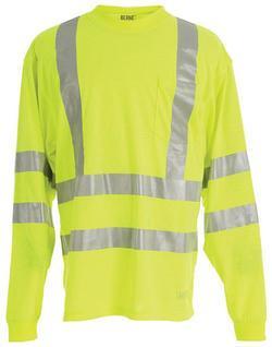 Hi-Visibility Long Sleeve Pocket Shirt