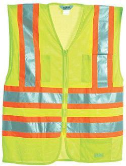 Hi-Visibility Multi-Color Mesh Vest