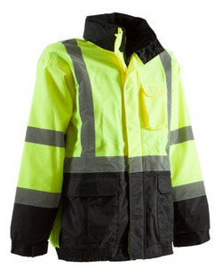 Hi-Visibility Waterproof Safety Jacket