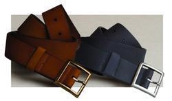 Hotel Rugged Leather Garrison Belt