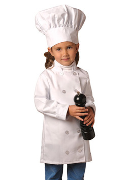 Kids Chef Coat (Hat NOT Included)
