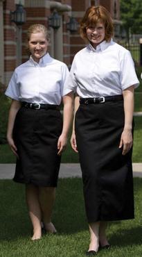 Ladies Chino Skirt Two Classic Lengths