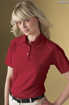 Ladies Country Club Edry Ottoman Polo Shirts