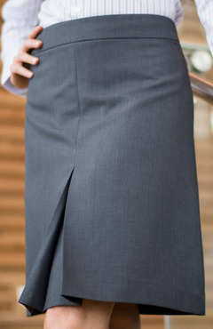 Ladies Hotel Washable A-Line Skirt