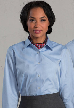 Ladies No-Iron Server Blouse