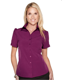 Ladies Open Neck Nightclub Blouse (Discontinued may NOT be returned or exchanged)