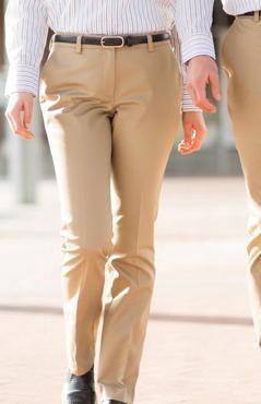 Ladies Restaurant Flat Front Slim Fit Pant
