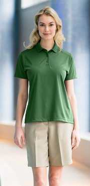 Ladies Restaurant Moisture Wicking Super Snag-Free Polo Shirt