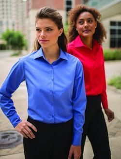 Ladies Server Long-Sleeve Poplin Shirt