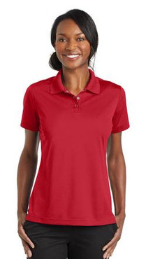 Ladies Server Three Snap Button Polo Shirt