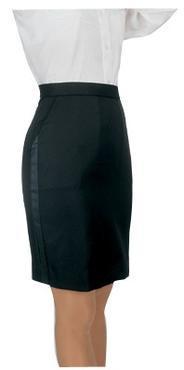 Ladies Tuxedo Skirt above Knee