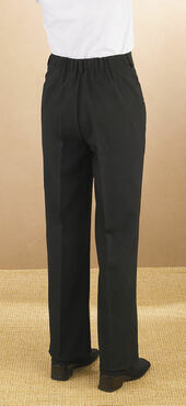 Ladies Value Polyester Flat Front Comfort Fit Pant