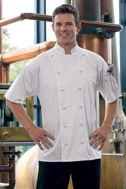 Master Chef Egyptian Cotton Short Sleeve Chef Coat