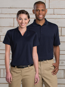 Men's Cafe Moisture Management Snag Resistant Polo Shirt