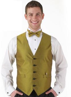 Men's Banquet Elegant Print Apex Vest