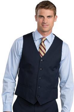Men's Extreme Washable Hotel High Button Vest