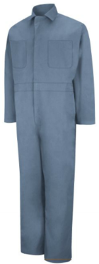 Men's Industrial Twill Action Back Coveralls