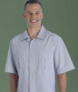 Men's Junior-Cord Housekeeping Shirt