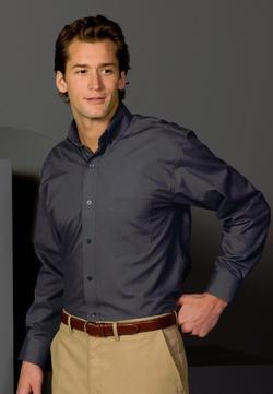 Men's Poplin Restaurant Shirt
