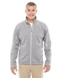 Men's Resort Hotel Full Zip Sweater Fleece Jacket
