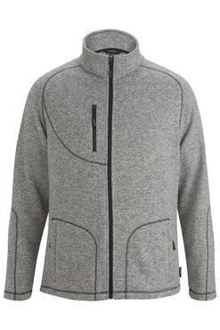 Men's Resort Hotel Sweater Knit Fleece Jacket