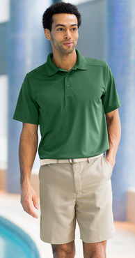 Men's Restaurant Moisture Wicking Super Snag-Free Polo Shirt (Available in Talls)