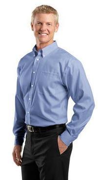 Men's Restaurant Non-Iron Pinpoint Oxford Shirt