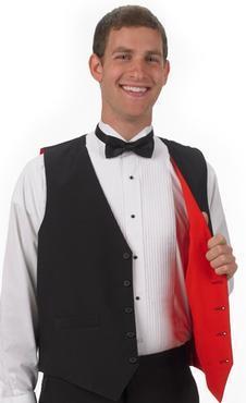 Men's Restaurant Reversible Vest