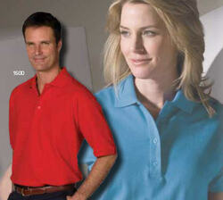 Men's Soft Touch Poly/Cotton Blended Pique Polo