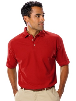 Men's Waitstaff Teflon Protected Poly Cotton Polo Shirt
