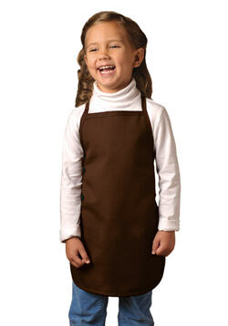 No Pocket Child-Youth Bib Apron