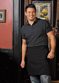 No Pocket Half Bistro Apron