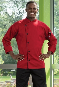Panama Single Breasted Poly Cotton Chef Coat