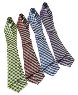 Resort Hotel Collegiate Plaid Neckerchiefs