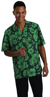 Server Tropical Unisex Hibiscus Camp Shirt