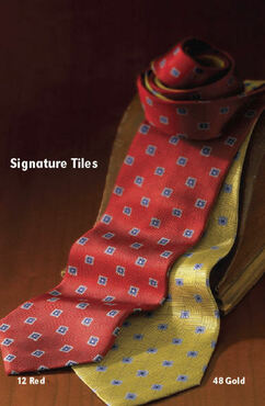 Polyester Tiles Tie