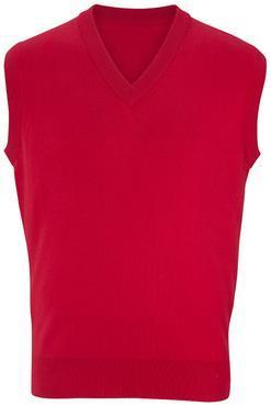 Unisex 100% Cotton V-Neck Vest