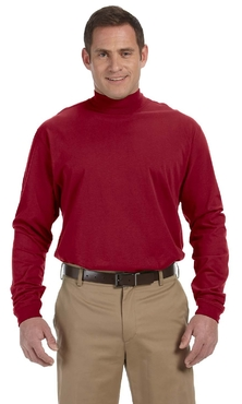 Unisex Security Mock Crew Turtleneck Shirt