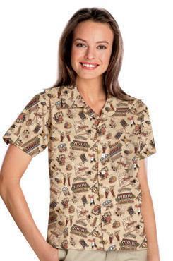 Unisex Server Bistro Camp Shirt