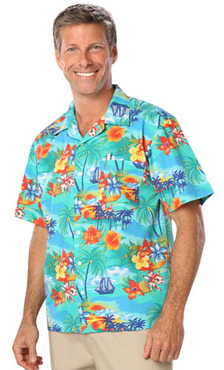 Unisex Server Tropic Camp Shirt