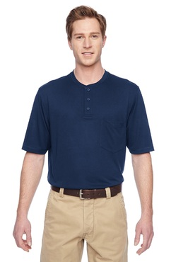 Unisex Snag Resistant Performance Henley Restaurant Shirt (Discontinued, may NOT be returned or exchanged)