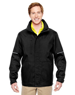 Valet 3-in-1 Jacket with Daytime Hi Vis Fleece Vest