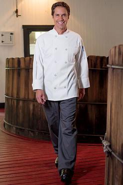 Value Poly-Cotton Chef Coat