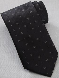 Waiter Diamonds & Dots Polyester Tie