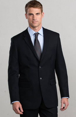 Men's Extreme Washable Hotel Single Breasted Suit Coat