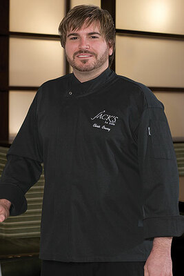 Black New Yorker Cool vent Executive Chef Coat