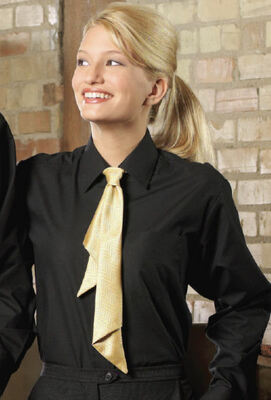 Ladies Broadcloth Value Dress Shirt