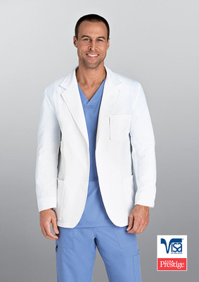 Men's 3 Pocket 30 Inch Formal Lab Coat